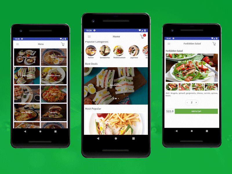 android sample app using kotlin