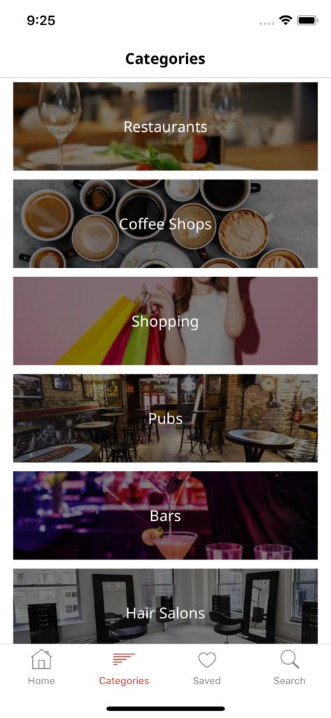 mobile store locator app