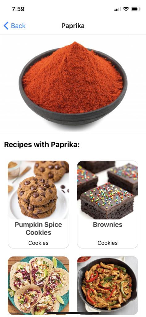 food app template react native