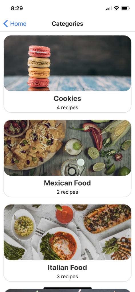 recipe app react