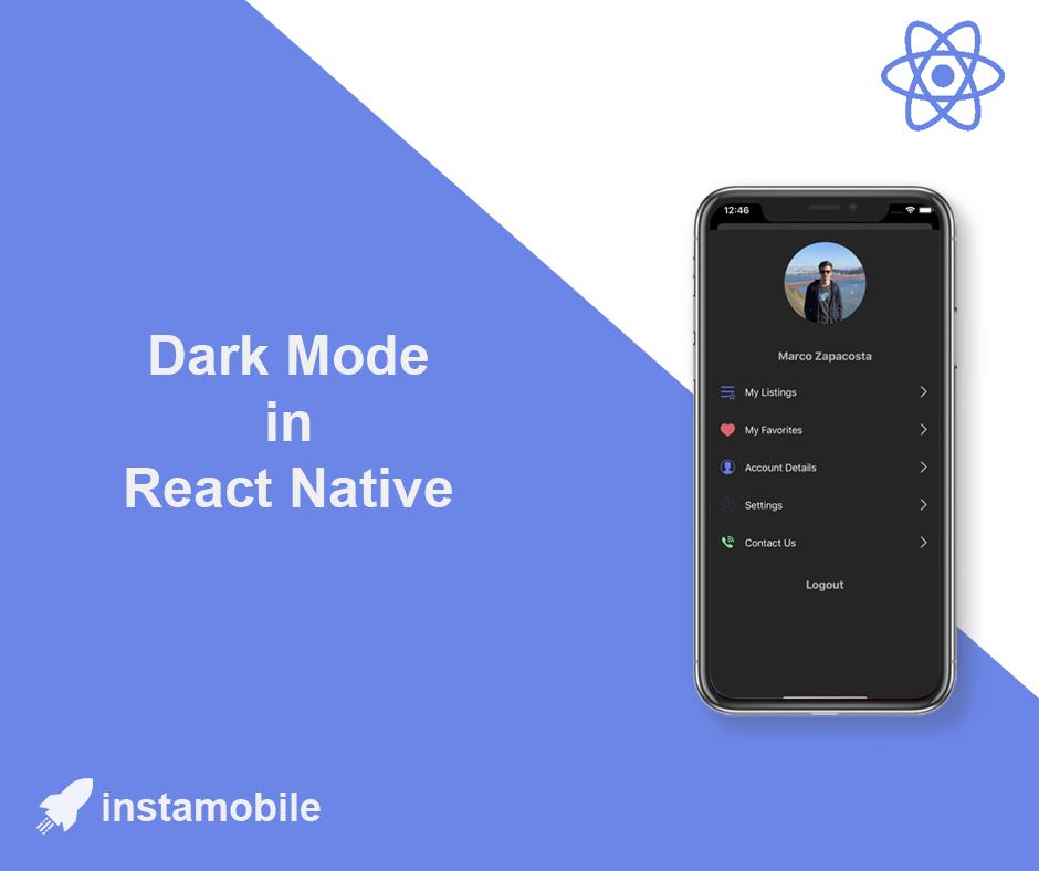 react native dark mode